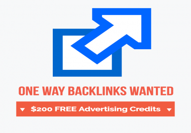 A One Way Backlink In Exchange For Advertising