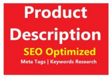 HIGH QUALITY SEO DESCRIPTION OF 24 PRODUCTS.