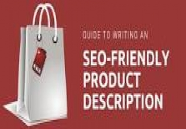 Need 24 seo products description with below mentioned feature.