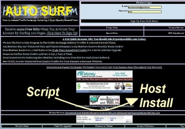 Install my AutoSurf Script on my Apache Hostage