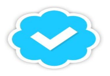 Blue Twitter Verified Check mark