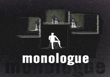 Drama Monologue