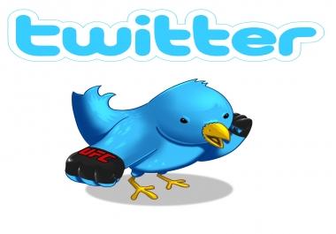 I need 100K Real Looking twitter followers