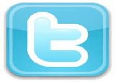 I need tweet for my message,  the follower must be 20.000+ INDONESIA