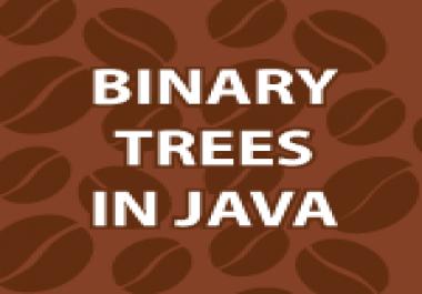 Code for school project binary tree