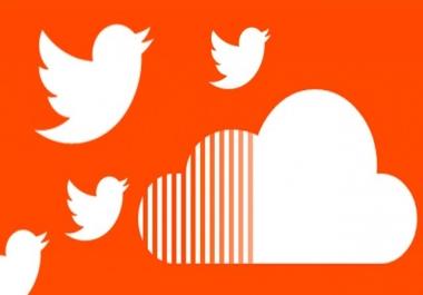 Need 100 soundcloud follower, Likes,  repost