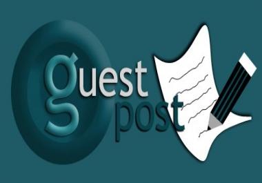 5 Health guest-posts DA&gt 25 Genuine Blogs