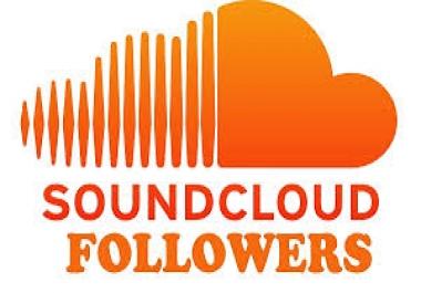 4,000 REAL SOUNDCLOUD FOLLOWERS
