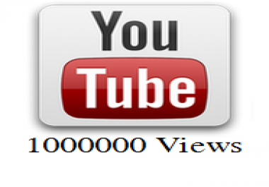 1,000,000 Youtube Views Needed Within 30 Days CHEAP