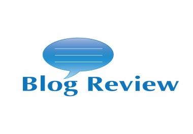 Write Good Quality Blog Review,  Forum Post for GigClerk. com