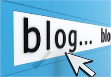 create blog post for my blog