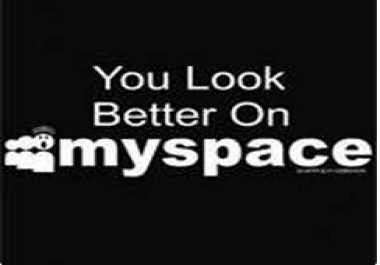 Need 100 Myspace friends in my profile