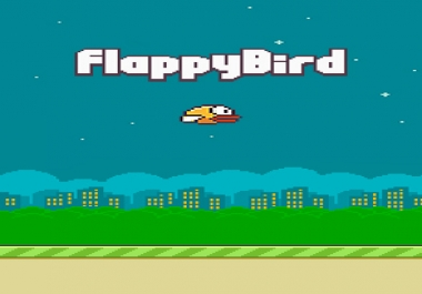 I need android game similiar to flappy bird using stency of any other tool