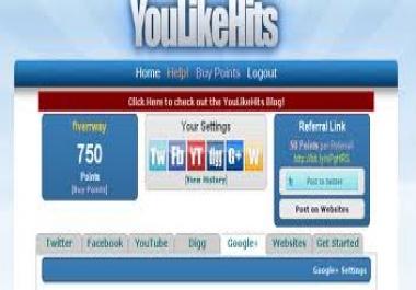 Needed 10,000 Youlikhitss points