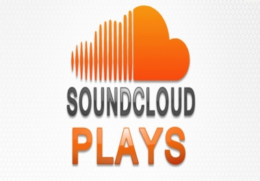 I want 10000 sounscloud plays on 3 track for