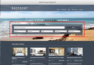 wordpress home page fix