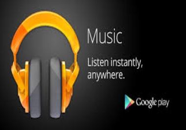 Google play music promotion