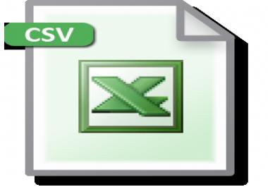 150 product list csv