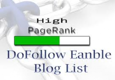 need do follow bloging list where i can create blaclink