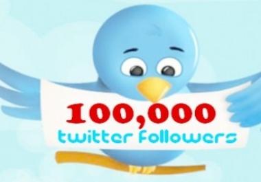 50k and 100k Twitter Followers