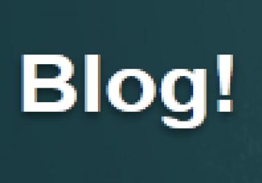 5 blog posts on my blog