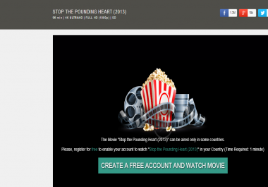 I Need Movie CPA Landing Page