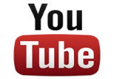 750 real Human permanent YouTube likes