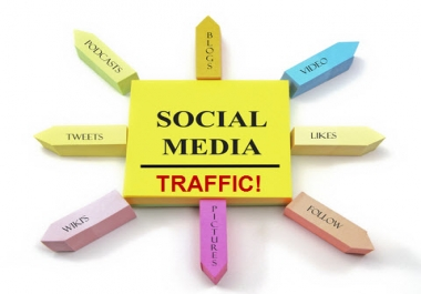 Need Geo-Targeted Social Network Traffic 7-90 days
