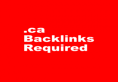 Looking for. ca backlinks