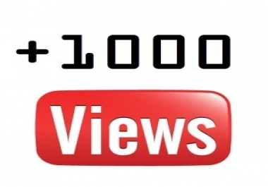 Need 1000 YouTube Video Views Fast