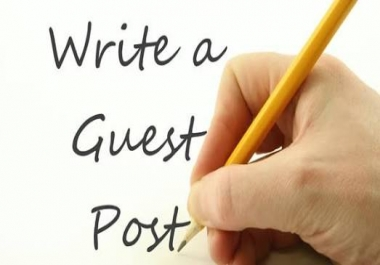 Guest posts on domains that where not purchased through expired domains auctions