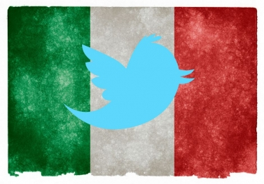 I want 4000 Italian twitter followers Real or fake.