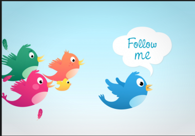 Followers for twitter
