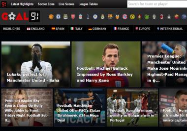Re-design my website desktop and mobile