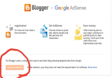 I want blogspot to add ads
