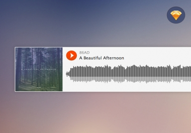 create and customize an audio embed player for my website