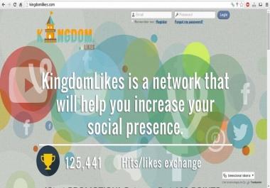 I need kingdomlikes account with 6000 points