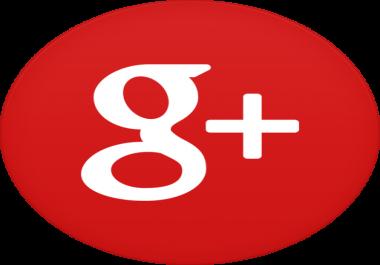 100 google plus likes/ones