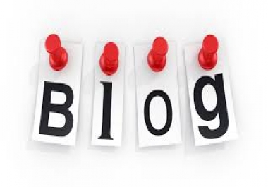 In need of impression in blog