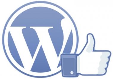 wp plugin to like jacking