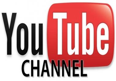 I want YouTube accounts creator