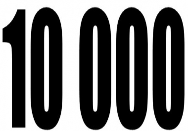 10,000 Twitter Followers