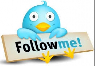 I need 5 twitter account each account have 40,000 followers