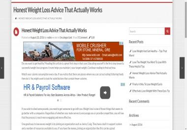 Make my wordpress site Autoblog