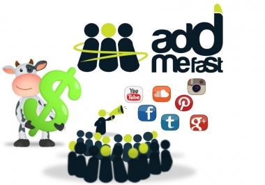 AddMeFast Account With 50,000 Points