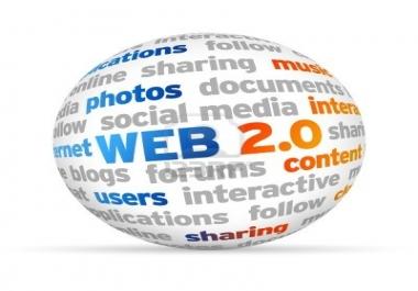 Web 2.0 Authority Site Creation