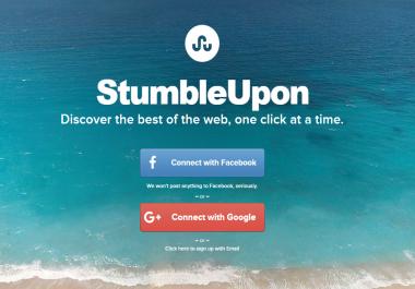 200 StumbleUpon Likes
