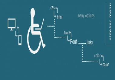 WP Accessibility - WP Accessibility fixes common accessibility issues in your WordPress site.