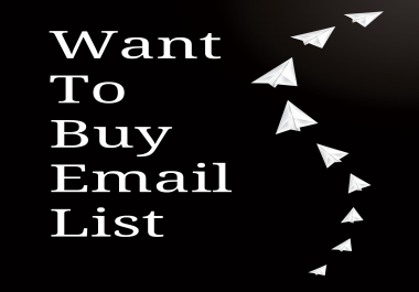 Want To A Buy Email List Of People From JvZoo,  Warrior Forum,  And Other Marketing Platforms