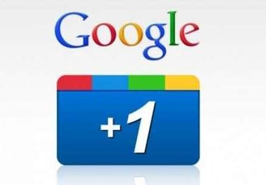 want to 140 google+1 in a post not share